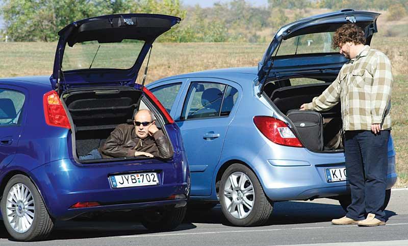 Összehasonlító teszt: Fiat Grande Punto 1.3 Multijet Dynamic, Opel on fiat cinquecento, fiat ritmo, fiat cars, fiat coupe, fiat stilo, fiat barchetta, fiat 500 turbo, fiat panda, fiat multipla, fiat 500l, fiat marea, fiat bravo, fiat spider, fiat doblo, fiat seicento, fiat linea, fiat x1/9, fiat 500 abarth,