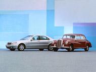 S-osztály és Mercedes-Benz 300 (Adenauer Mercedes)
