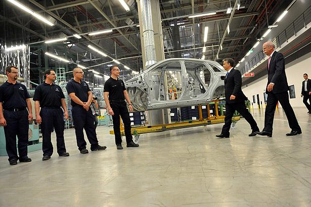 Kecskemét -  Mercedes gyár