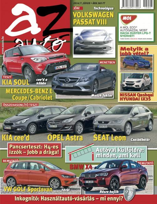 Az Auto 2014 június címoldal