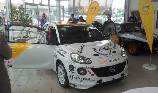 Hoffer Zsolt,Opel Adam,R2,raliautó