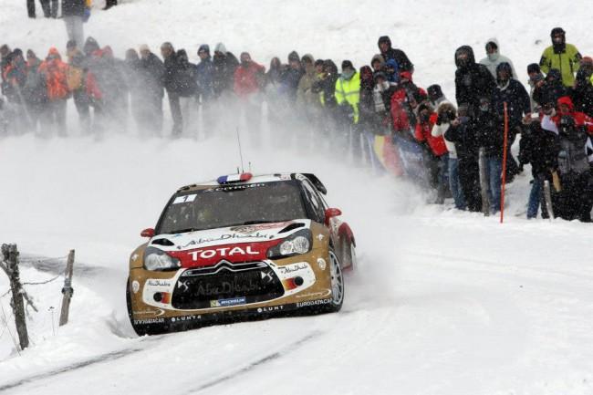 Loeb és Elena a 2013-as Monte Carlo ralin