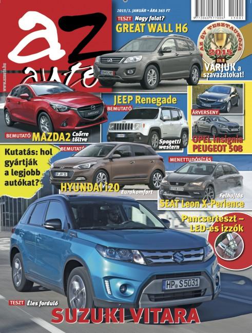 Az Autó 2015_01 borító