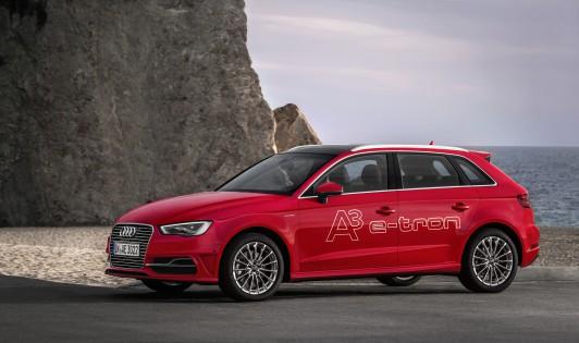 Audi A3 Sportback e-tron,törésteszt