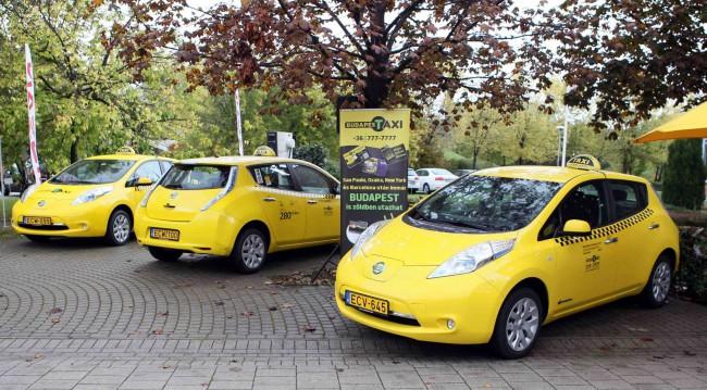 elektromos taxi