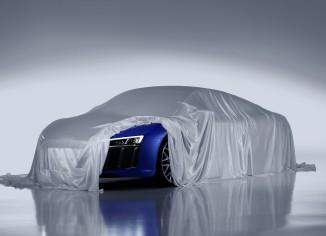Audi R8,lézer
