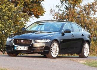 Jaguar XE,teszt