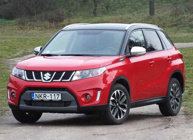 A Suzuki új szabadidőautója, a Vitara nagyon gyorsan meghódította a hazai piacot, mára a legkelendőbb SUV-vá vált. A közelmúltban mutatták be turbós benzines motorral is