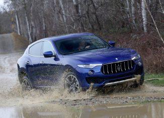 Maserati Levante,teszt