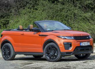 Range Rover Evoque,teszt