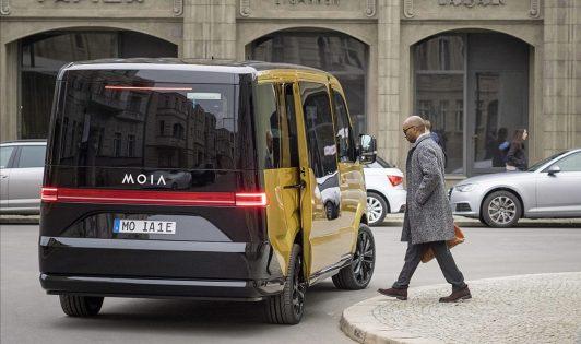 elektromos autó,Moia,telekocsi,volkswagen