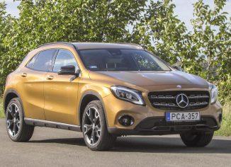 Mercedes-Benz GLA,teszt