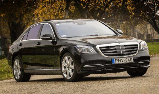 Mercedes-Benz S-osztály,teszt