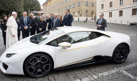 Lamborghini Huracan,pápa
