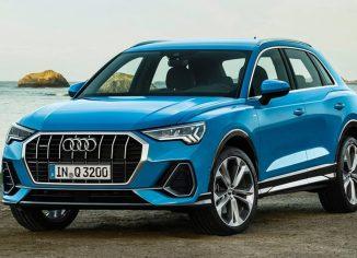 Audi Q3,törésteszt